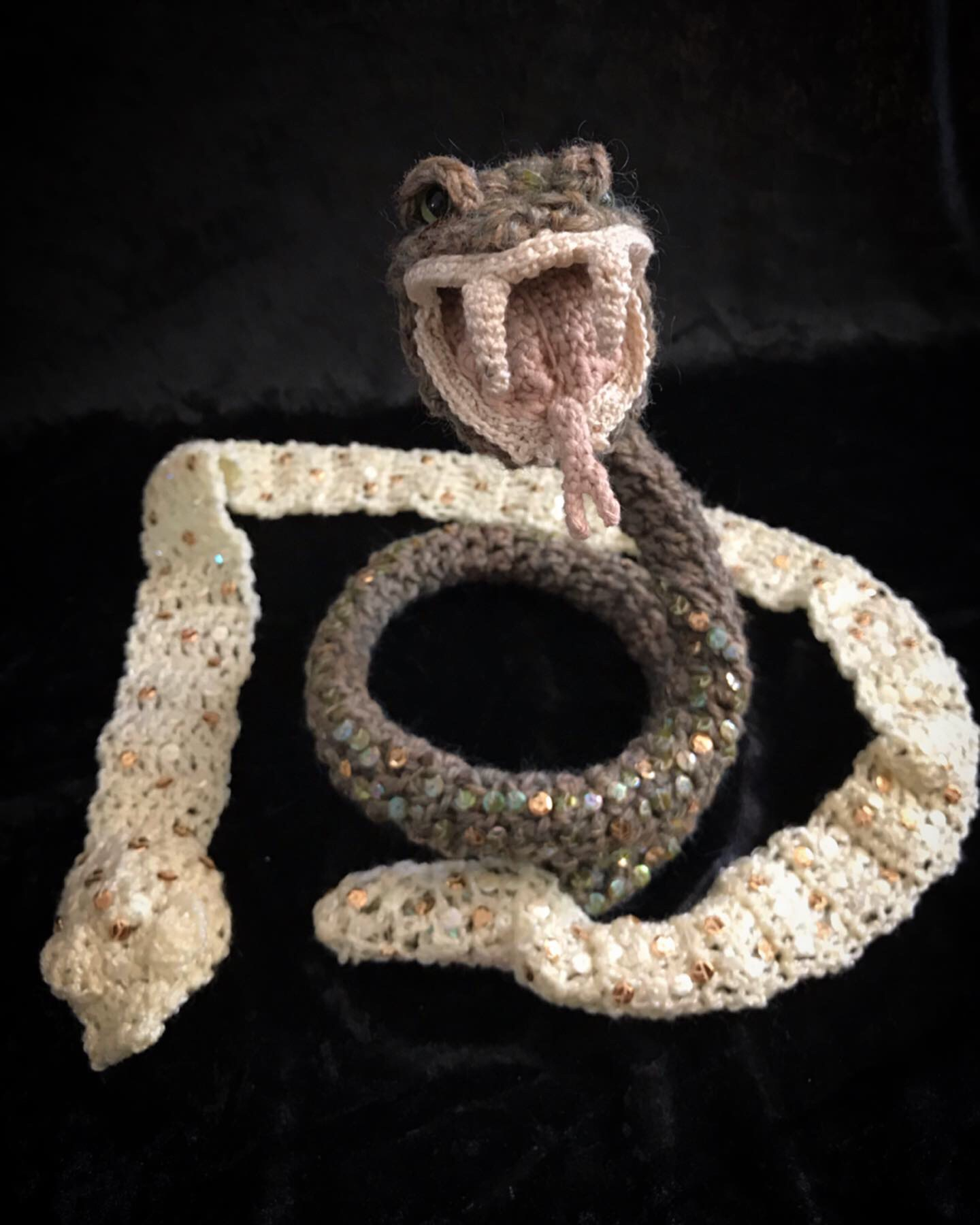 « Naturalia - Serpent à la mue » - 2019 {vue face}
