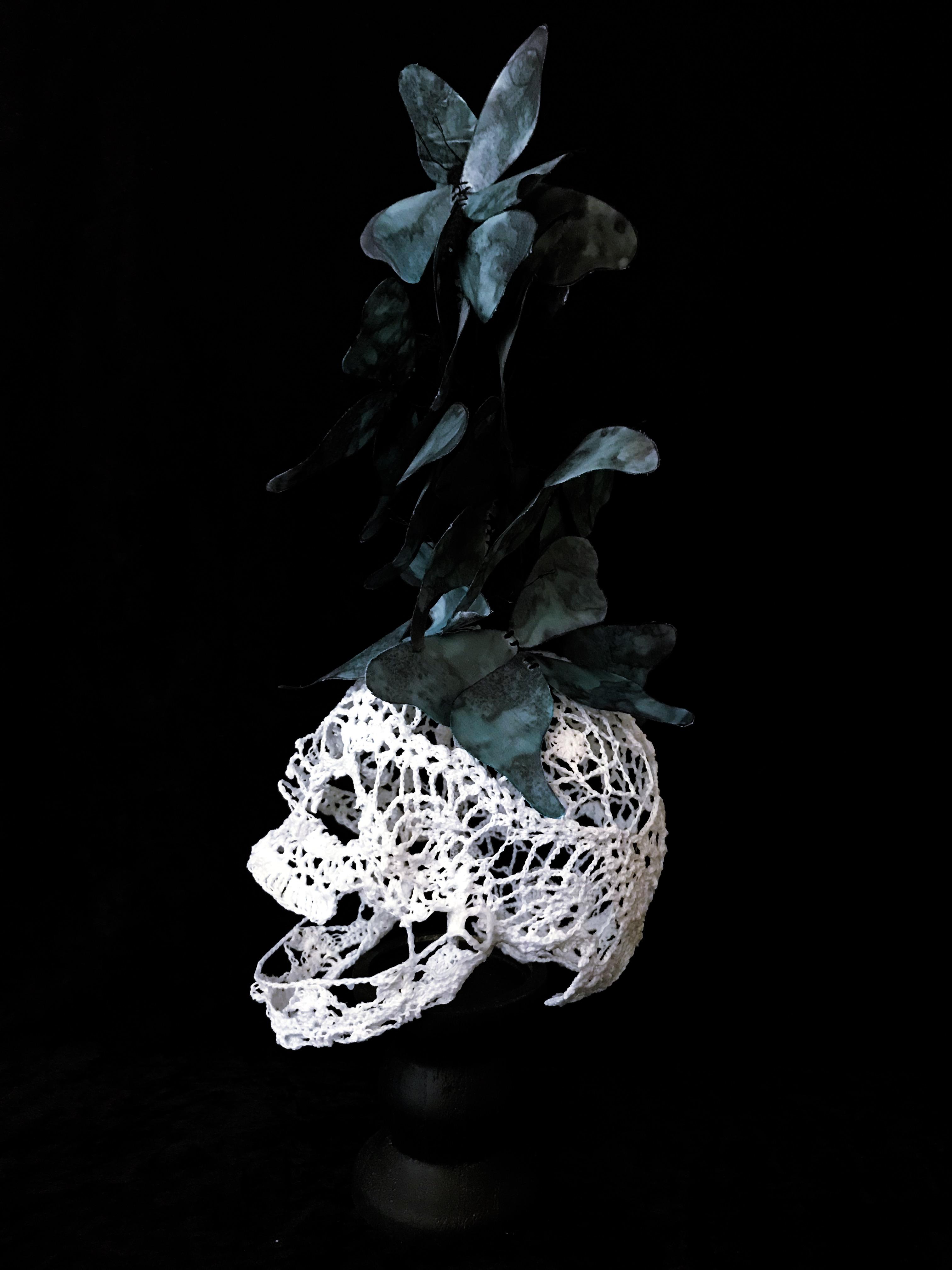 « Memento Papiliones », 2019 {profil gauche}
